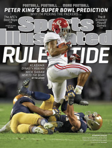 Eddie Lacy Sports Illustrated cover
