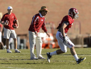 Alabama Spring Practice Who Wins the Star position