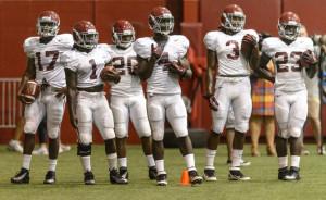 2013 Alabama Football Podcast Preseason - Running Back Corps