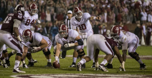 AJ McCarron and Offensive Live